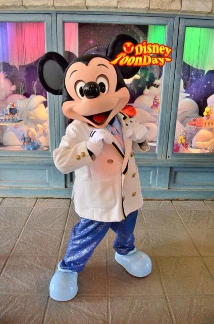 TDS ディズニーシー・プラザ フリーグリーティング ミッキーマウス