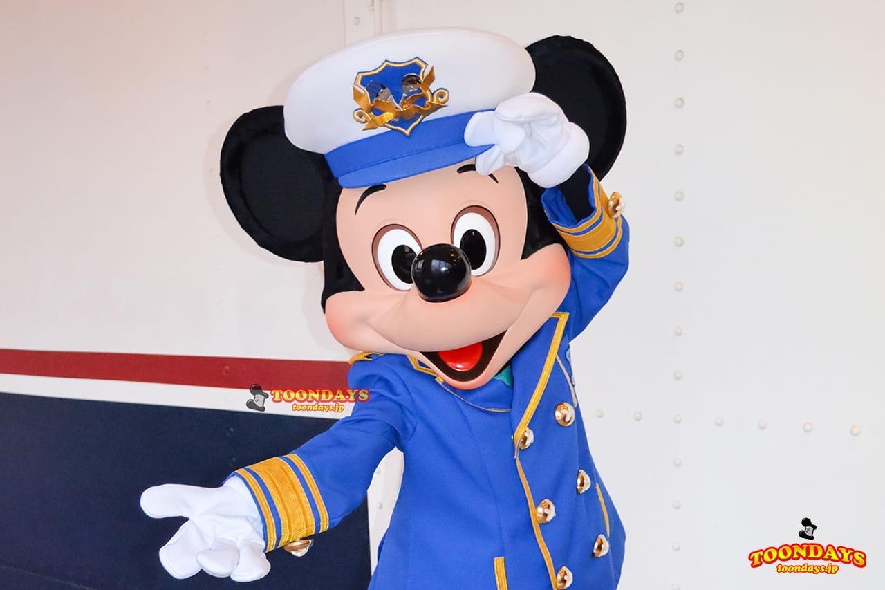 TDS アメリカンウォーターフロント グリーティング ガイドツアー ディズニーマジックの海へ ミッキーマウス
