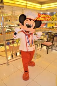 ディズニーアンバサダーホテル 旧シェフミッキー ミッキーマウス