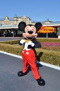 TDL エントランスグリーティング ミッキーマウス