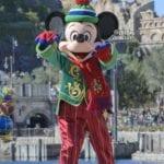 ホリデーグリーティング・フロム・セブンポートのミッキーマウス
