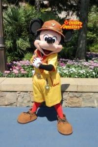 TDS ディズニーキッズ期間限定ディズニーシ―プラザグリーティング ミッキーマウス