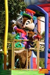 TDL クリスマスファンタジー 2012 ディズニーサンタヴィレッジパレード チップ