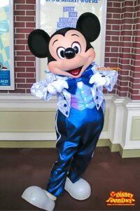 TDL エントランス グリーティング 25周年限定 ミッキーマウス