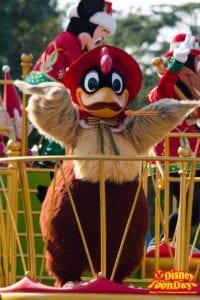 TDL クリスマス・ファンタジー 2014 ディズニー・サンタヴィレッジ・パレード クララクラック