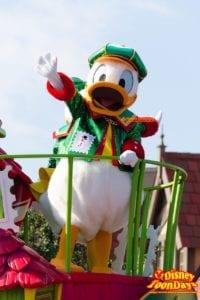TDL クリスマス・ファンタジー 2014 ディズニー・サンタヴィレッジ・パレード ドナルドダック