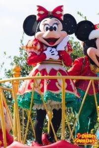 TDL クリスマス・ファンタジー 2014 ディズニー・サンタヴィレッジ・パレード ミニーマウス