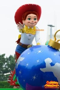 TDL クリスマス・ファンタジー 2015 ディズニー・クリスマス・ストーリーズ ジェシー