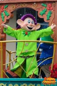 TDL クリスマス・ファンタジー 2015 ディズニー・クリスマス・ストーリーズ ドーピー