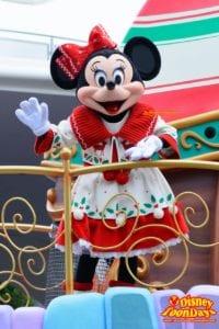 TDL クリスマス・ファンタジー 2015 ディズニー・クリスマス・ストーリーズ ミニーマウス