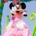ミニーマウスの華やかな『ヒッピティ・ホッピティ・スプリングタイム』コスチューム