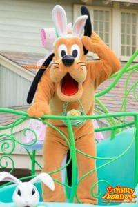 TDL ディズニー・イースター 2015 ヒッピティ・ホッピティ・スプリングタイム プルート
