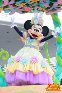 TDL ディズニー・イースター 2015 ヒッピティ・ホッピティ・スプリングタイム ミニーマウス