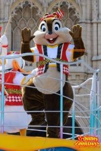 TDL ディズニー夏祭り 2015 おんどこどん チップ
