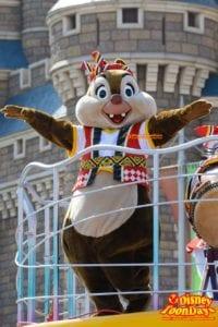 TDL ディズニー夏祭り 2015 おんどこどん デール