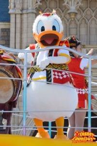 TDL ディズニー夏祭り 2015 おんどこどん ドナルドダック