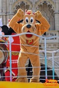 TDL ディズニー夏祭り 2015 おんどこどん プルート