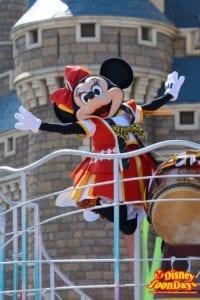 TDL ディズニー夏祭り 2015 おんどこどん ミニーマウス