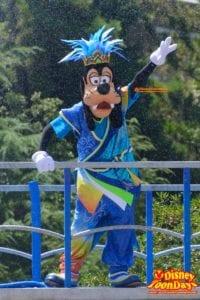 TDL ディズニー夏祭り 2015 雅涼群舞 グーフィー