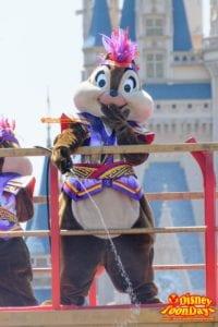 TDL ディズニー夏祭り 2015 雅涼群舞 チップ