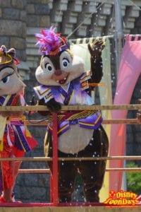 TDL ディズニー夏祭り 2015 雅涼群舞 デール