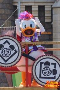 TDL ディズニー夏祭り 2015 雅涼群舞 ドナルドダック