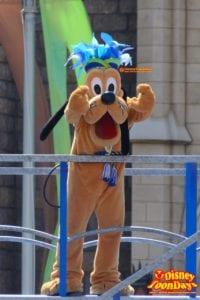 TDL ディズニー夏祭り 2015 雅涼群舞 プルート