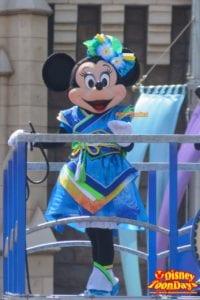 TDL ディズニー夏祭り 2015 雅涼群舞 ミニーマウス