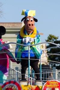 東京ディズニーランド『ニューイヤーズグリーティング』のホーレスホースカラー
