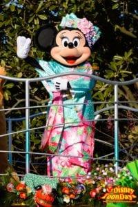 TDL ニューイヤーズグリーティング 2015 ミニーマウス