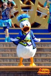 TDL ディズニー夏祭り2012 爽涼鼓舞 ドナルドダック