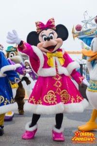 TDS クリスマス・ウィッシュ 2014 カラフルホリデーグリーティング ミニーマウス