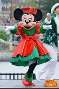 TDS クリスマス・ウィッシュ 2015 パーフェクト・クリスマス ミニーマウス
