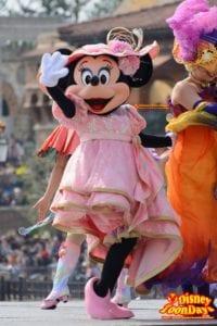 TDS ディズニー・イースター 2014 ファッショナブル・イースター ミニーマウス