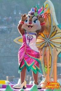 TDS ディズニー・サマーフェスティバル 2015  ミニーのトロピカルスプラッシュ クラリス