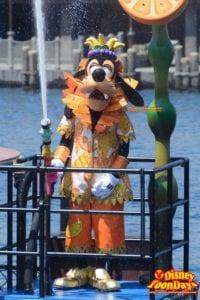 TDS ディズニー・サマーフェスティバル 2015  ミニーのトロピカルスプラッシュ グーフィー