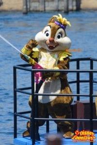 TDS ディズニー・サマーフェスティバル 2015  ミニーのトロピカルスプラッシュ デール