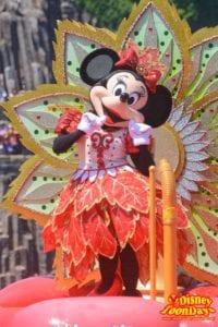 TDS ディズニー・サマーフェスティバル 2015 ミニーのトロピカルスプラッシュ ミニーマウス