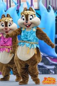 TDS ディズニー・ハロウィーン 2015 ザ・ヴィランズ・ワールド チップ