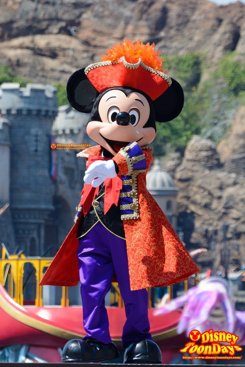 TDS ディズニー・ハロウィーン 2015 ザ・ヴィランズ・ワールド ミッキーマウス