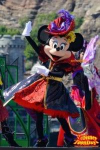 TDS ディズニー・ハロウィーン 2015 ザ・ヴィランズ・ワールド ミニーマウス