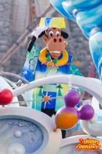 東京ディズニーシー『ニューイヤーズグリーティング』のホーレスホースカラー