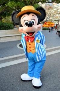 TDS アメリカンウォーターフロント グリーティング ミッキーマウス