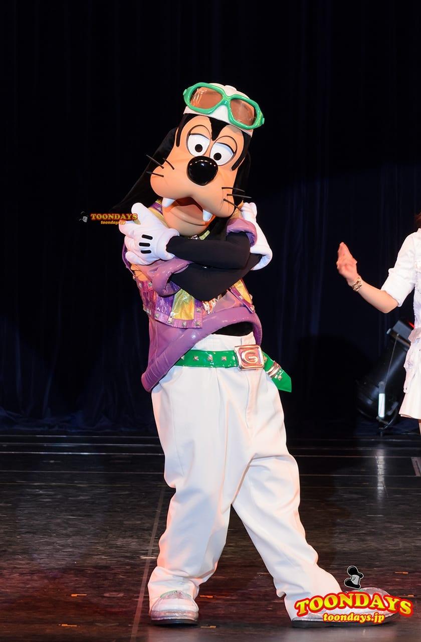 TDL トゥモローランド ショーベース グーフィーのダンスアカデミー グーフィー (2)