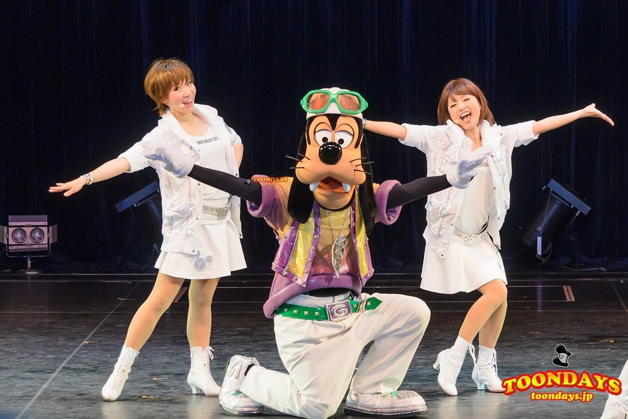 TDL トゥモローランド ショーベース グーフィーのダンスアカデミー グーフィー
