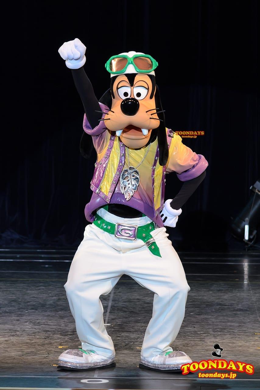 TDL トゥモローランド ショーベース グーフィーのダンスアカデミー グーフィー (1)