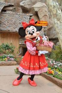ベリーちゃんと親しまれるミニーマウス