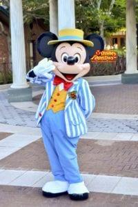 TDS クリスマス アメリカンウォーターフロントグリーティング ミッキーマウス