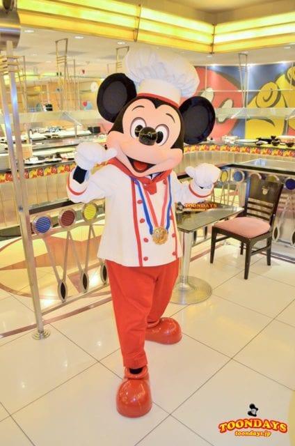 旧シェフミッキーのミッキーマウス