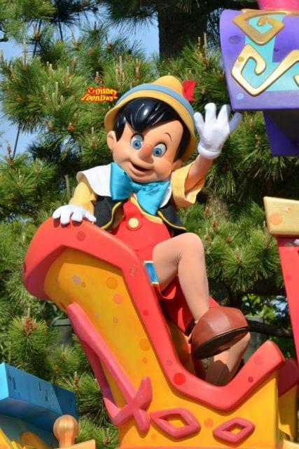 ハピネス・イズ・ヒアのピノキオ